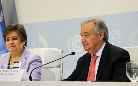"""马德里气候变化会议开幕:联合国秘书长呼吁拥抱""""绿色经济"""""""