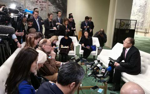 中国常驻联合国代表张军:疫情面前国际社会应保持团结  避免因过度反应造成更大负面影响